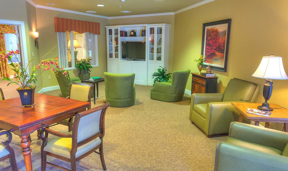 TV Room at Sierra Ridge Memory Care
