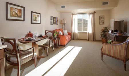 White Cliffs Senior Living Interior Apartment
