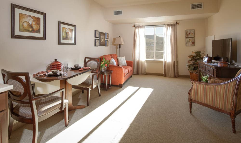 Beautiful apartment at White Cliffs Senior Living