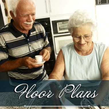 Assisted living floor plans at Windchime of Chico