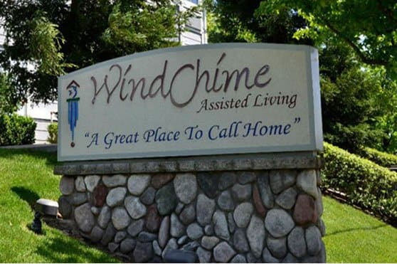 Chico senior living sign