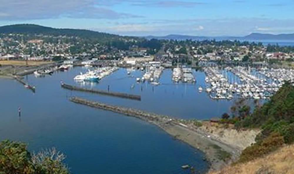 Anacortes Harbor near Cap Sante Court Retirement Community