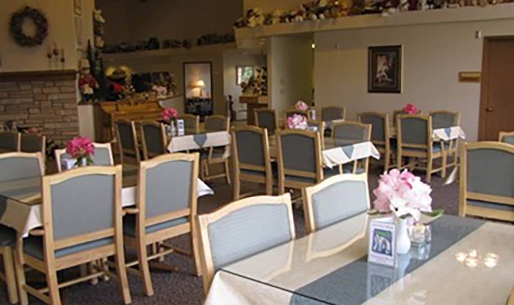Dining Room at Cap Sante Court Retirement Community