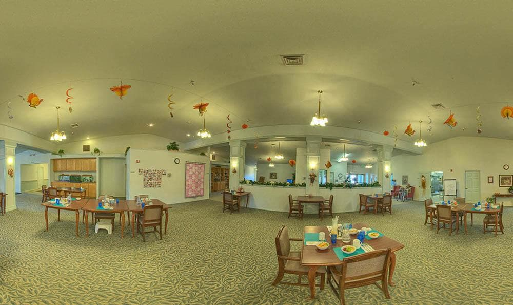 Community Dining Room at Dorian Place Assisted Living
