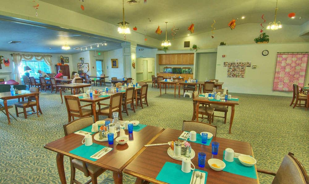 Dining Area at Dorian Place Assisted Living