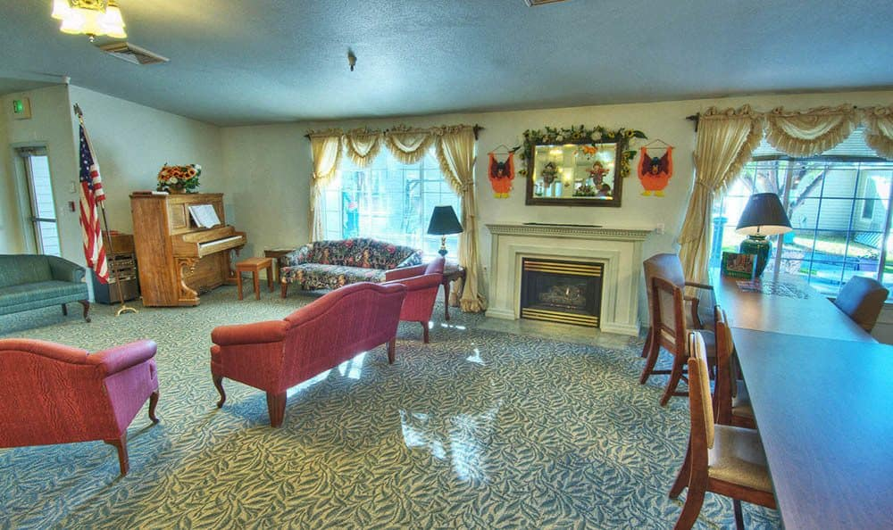 Community Living Room at Dorian Place Assisted Living
