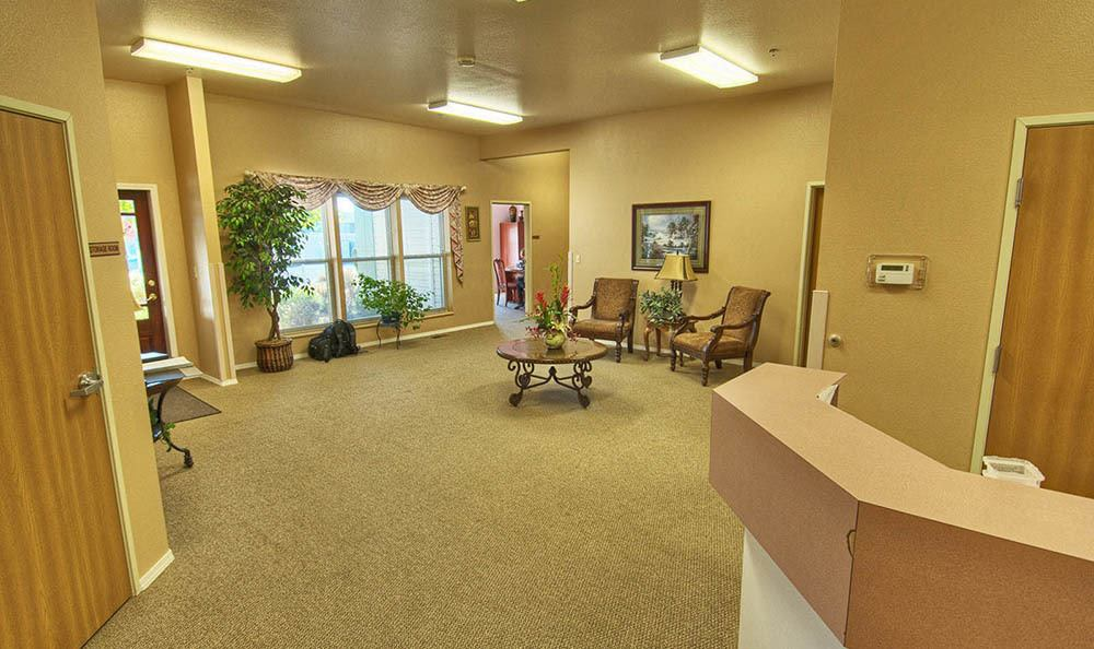Lobby at Highland Estates in Burley