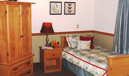 Bedroom at Senior-Living in Fallon