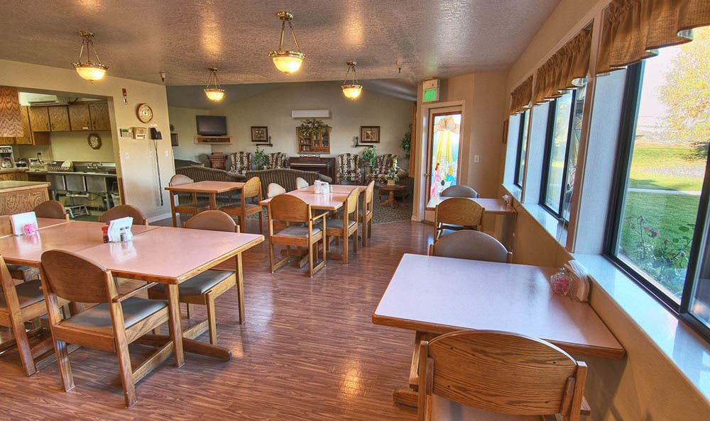 Dining Room at Indianhead Estates Residential Care