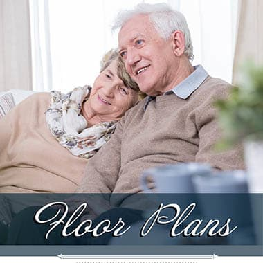 independent living floor plans at Logan Creek Retirement Community