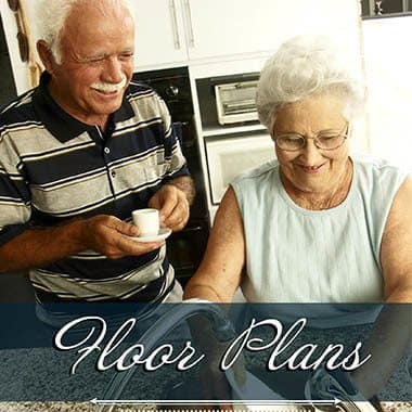 Assisted living floor plans at Sage Mountain