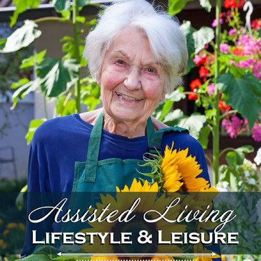 Assisted living enrichment opportunities at The Meadows - Assisted Living