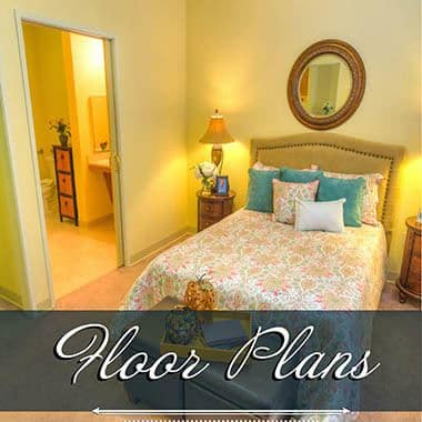 Assisted living floor plans at The Meadows - Assisted Living