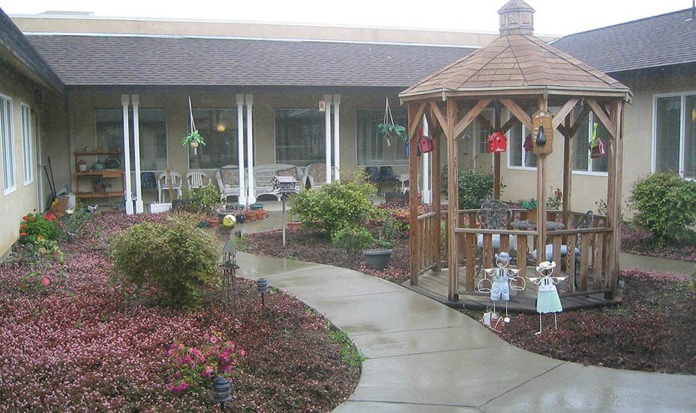 Gazebo at The Meadows - Assisted Living in Elk Grove