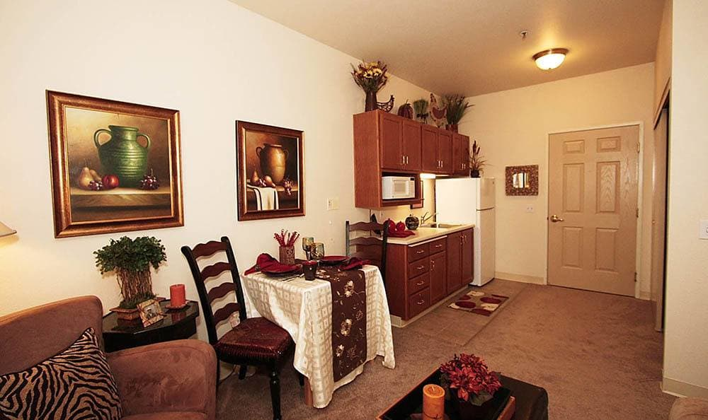 One Bedroom Apartment at The Meadows - Assisted Living in Elk Grove
