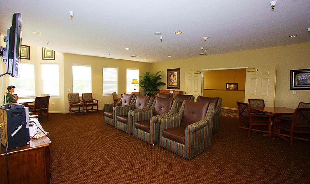The Meadows - Assisted Living Community Media Room
