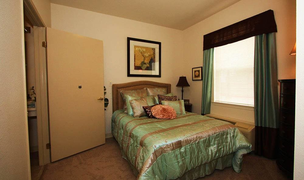 The Meadows - Assisted Living Bedroom in Elk Grove.