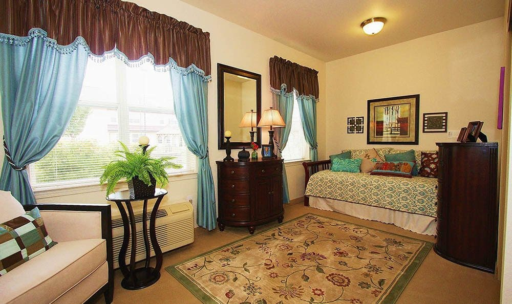 The Meadows - Assisted Living Large Studio Suite in Elk Grove.