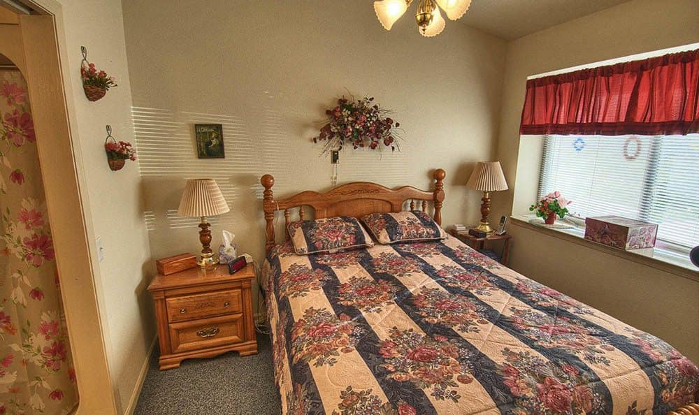 Large Bedroom at Wellsprings Assisted Living