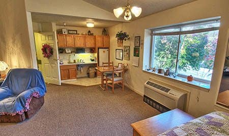Studio Apartment at Wellsprings Assisted Living in Ontario