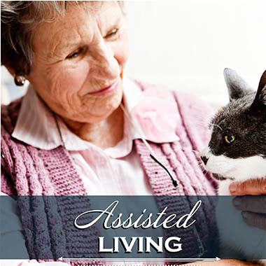 Assisted living resident at The Willows Retirement & Assisted Living