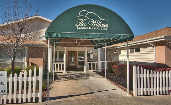 Exterior of The Willows Retirement & Assisted Living in Blackfoot