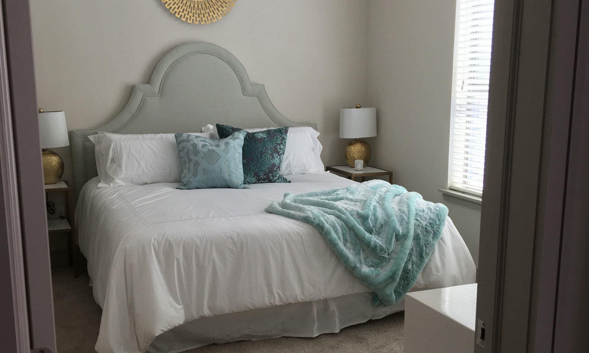 Bedroom at The Hamilton Apartments