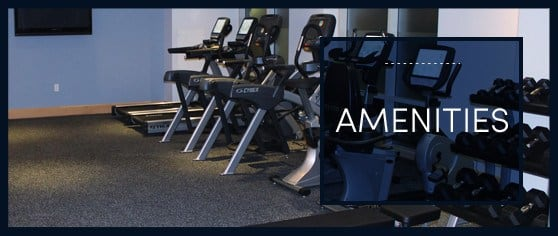 Graphic link to the amenities page on our website here at Kimball Towers at Burlington.