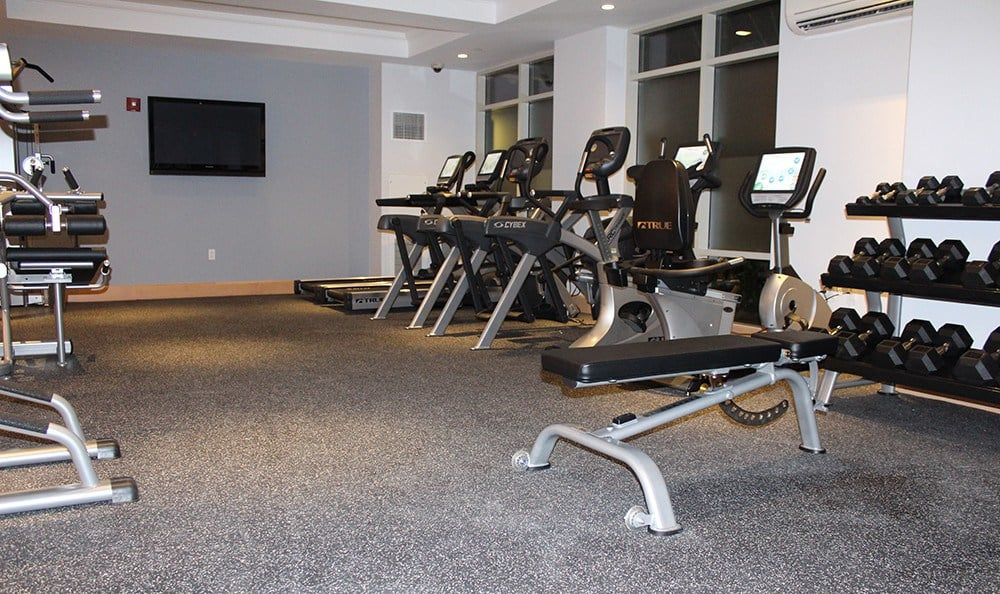 We've got everything you need to get and stay fit in our fitness center at Kimball Towers at Burlington.