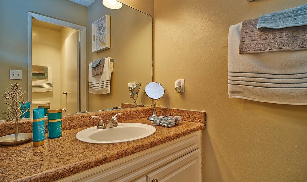 Bathroom At Apartments In Pomona California