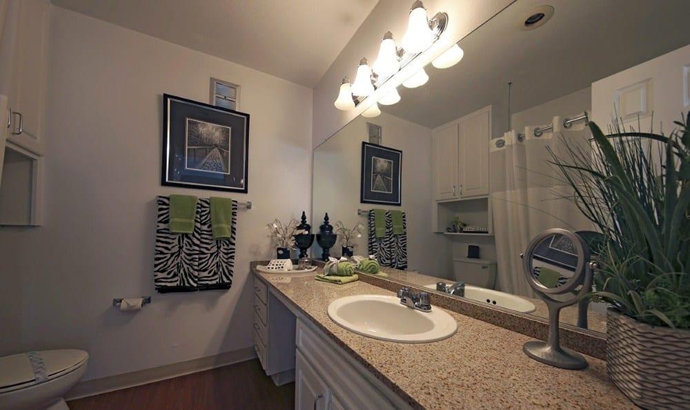 Bathroom At Apartments In Garden Grove California