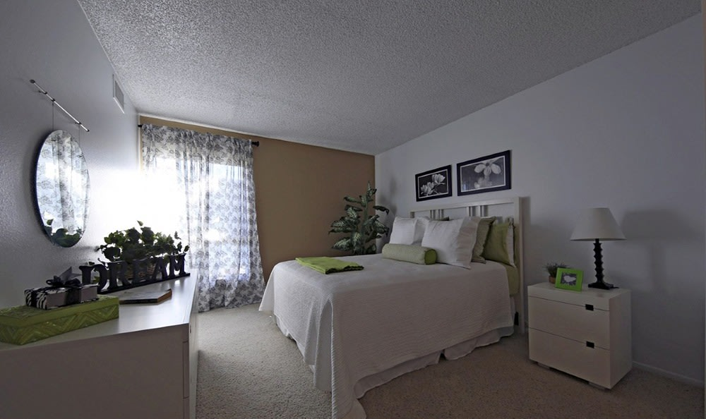 Bedroom At Apartments In Garden Grove California