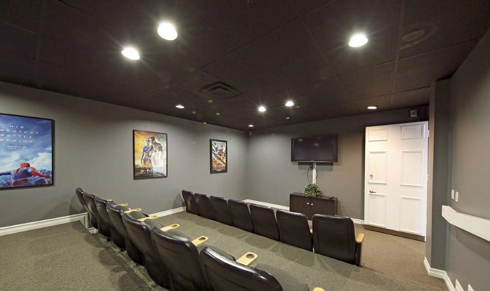Theatre At Apartments In Garden Grove California