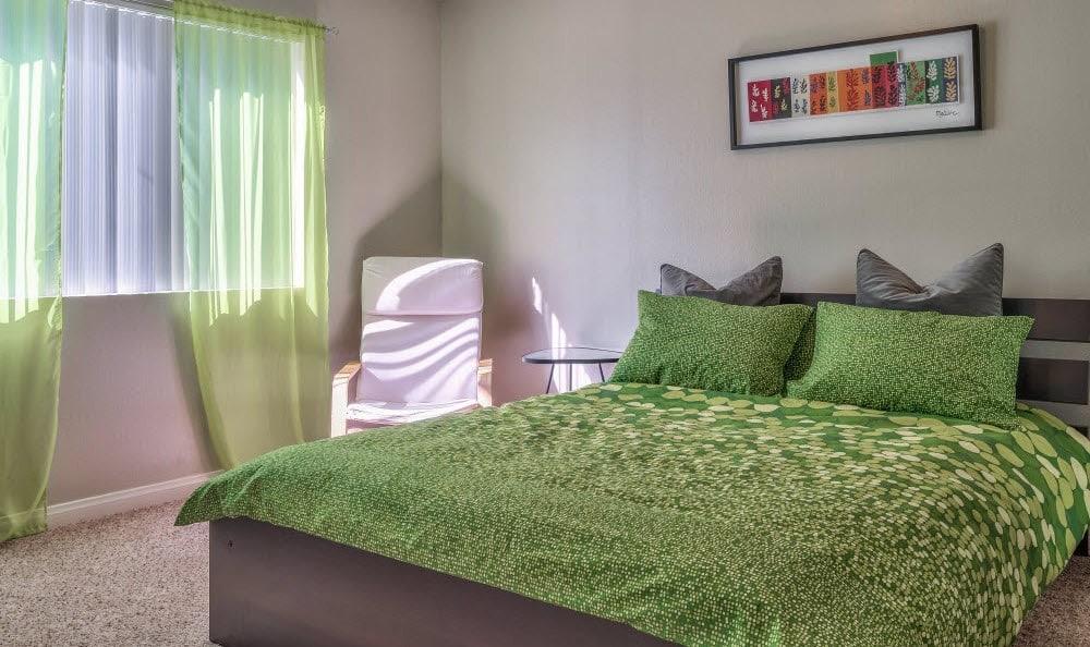 Very spacious bedrooms at Alvista Long Beach