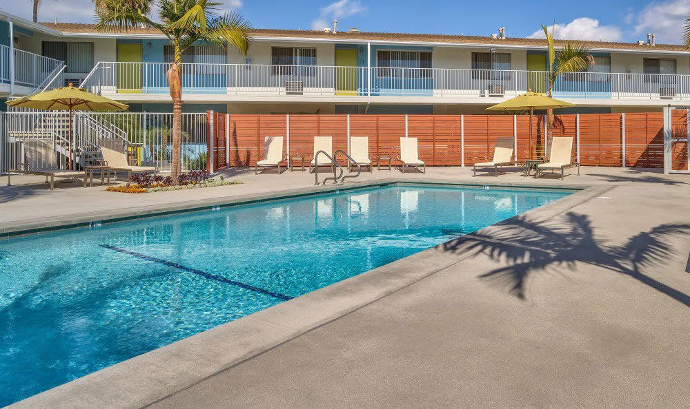 Get a tan on the sun deck at Alvista Long Beach