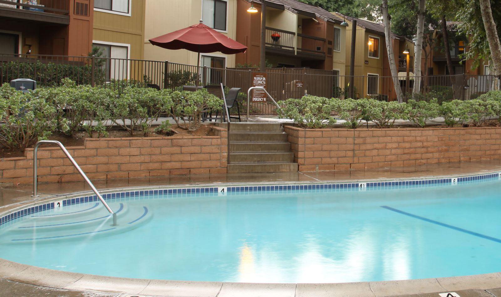 Swimming pool at Alvista Canyons