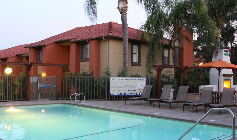 Enjoy the resort-style pool at Alvista Terrace