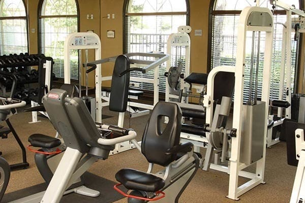 Fitness Room at Alvista Towngate