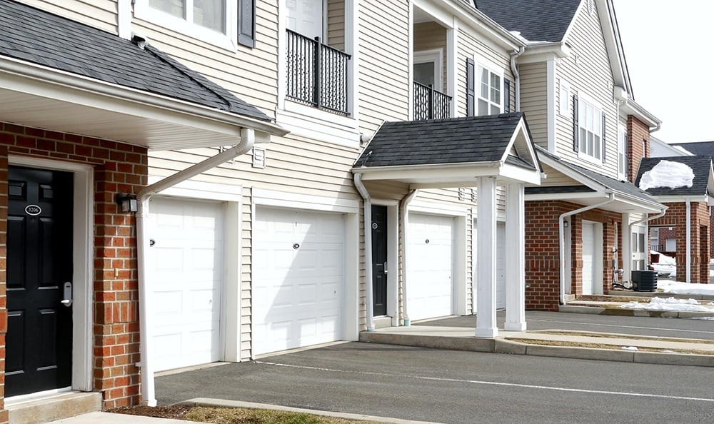 Garages At Our Apartments In Meriden