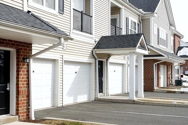 Garages At Our Apartments For Rent In Meriden