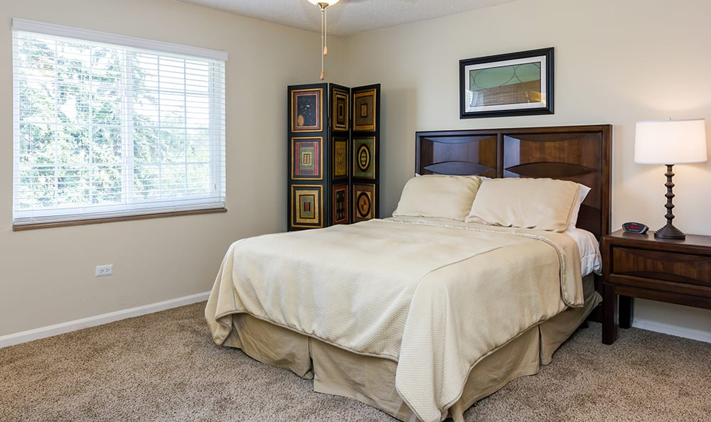 Bedroom At Our Aurora Colorado Apartment Rentals
