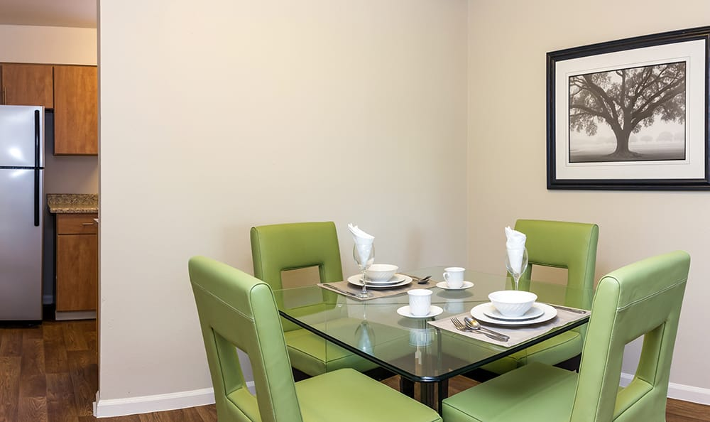 Dining Room At Our Aurora Colorado Apartment Rentals