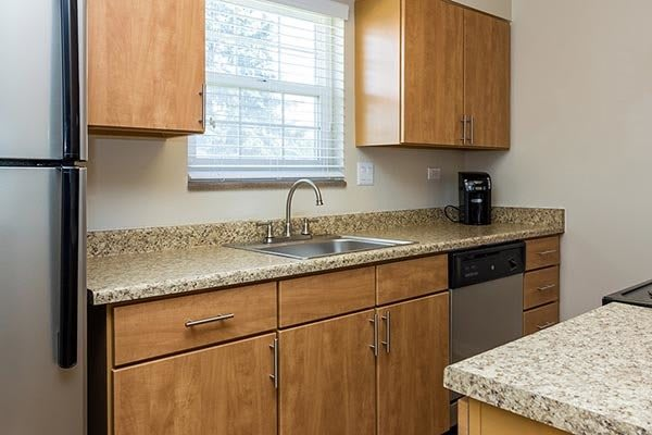 Kitchen At Our Aurora Apartment Rentals