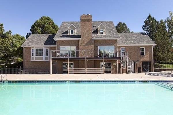 Swimming Pool At Our Aurora Apartment Rentals