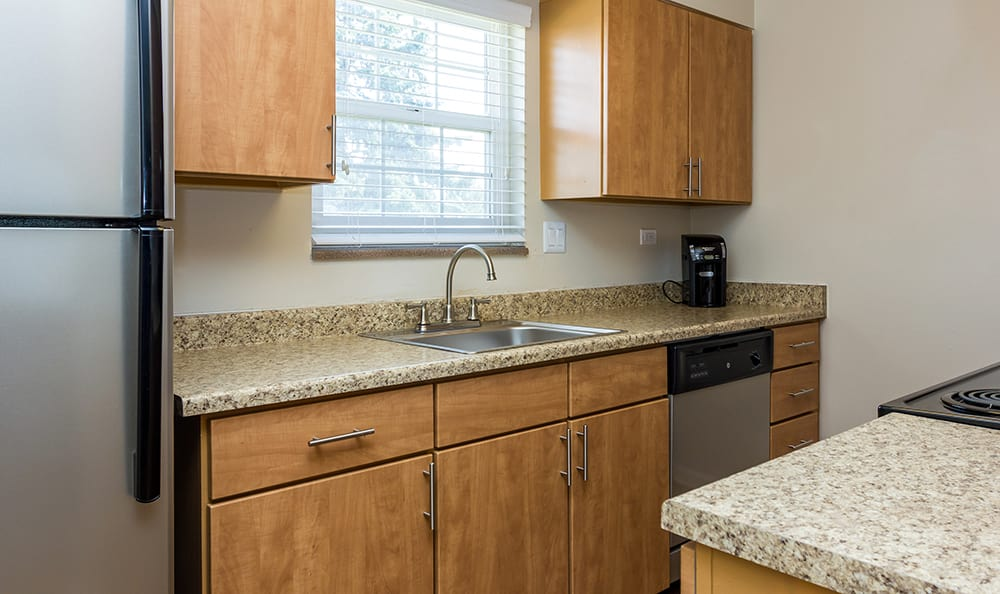 Kitchen At Our Aurora Colorado Apartment Rentals