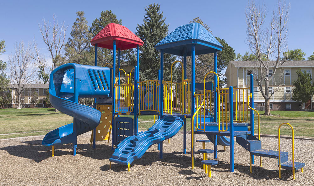 Large Playground At Our Aurora Colorado Apartment Rentals