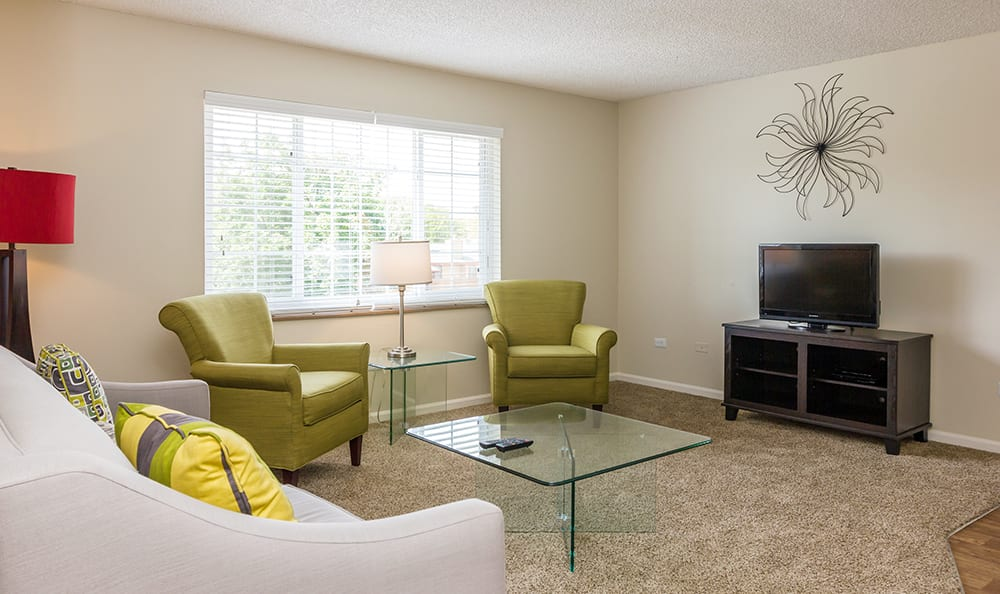 Living Room At Our Aurora Colorado Apartment Rentals