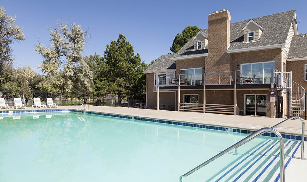 Pool At Our Aurora Colorado Apartment Rentals