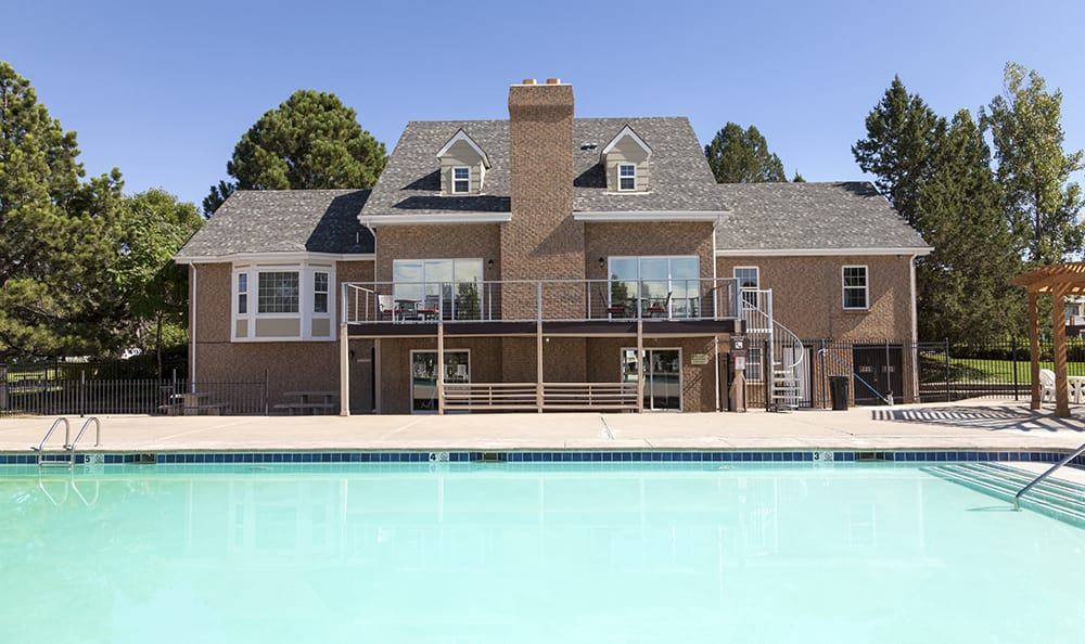 Swimming Pool At Our Aurora Colorado Apartment Rentals