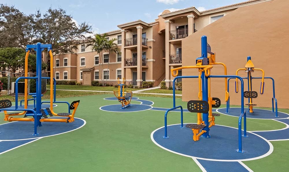 Playground At Apartments For Rent In Pembroke Pines
